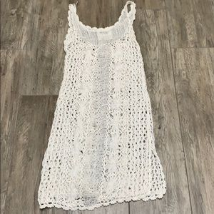 Free People knit cover up